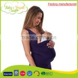 BCW-08A factory manufactured private label safe baby ring sling stretchy wrap carrier slings