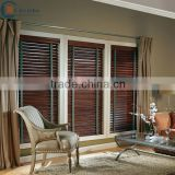 Guangzhou faux wood blinds bamboo curtain for home decor