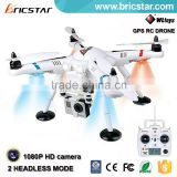Automatic return fpv GPS aerial survey uav drones with wifi and hd camera.