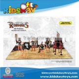 New Toy Roman soldiers Series paper puzzle