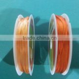 Satin cord Jewelry making supplies-10 meters of orange china knot satin cord for jewelry DIY making and craft supplies