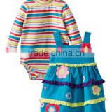 (CS811#) Baby girl clothes set factory cheap sale baby clothes factory price carter's baby clothing sets