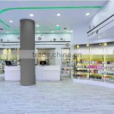 China Wholesale Retail Store Color Printing Corrugated Pharmacy Grocery Store Display Shelf