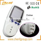 Newest High Quality 230V Plug-in Energy Meter socket, socket with power meter                                                                                                         Supplier's Choice