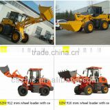 small garden tractor loader front end loader NEOL200 zl-18 with huafeng engine hydraulic joystick