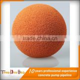 concrete Sponge Ball wash out cleaning ball used for concrete pump pipeline and concrete hose