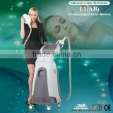 Double handles filter-free beauty machine E-light IPL permanent hair removal with CE approved , ISO13485 since1994
