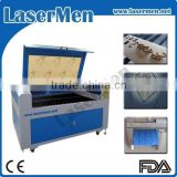 Leather Shoe Textile Fabric Laser Cutting and Engraving Machine LM-1290