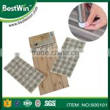 ISO9001 factory reduce noise and vibration polyester felt rug pad