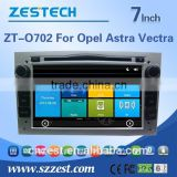 2 din car dvd player tv antenna for OPEL ASTRA VECTRA car dvd player Support 3G/V-10disc/Audio/Video