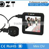 10 languages 3 inch LCD screen AVI video recording HD mini police babywear camera