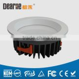 8/13/17/21/26/35w SMD COB LED Round Downlights Aluminum die casting Lamp Body China manufacturer low price led light bulb