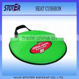 Nylon Waterproof Foam Round Sports Stadium Seat Cushion