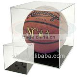 transparent basketball display stand