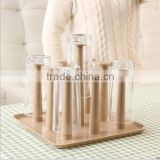The kitchen drain cup holder glass storage shelf/glass cup tray/shot glass holder tray