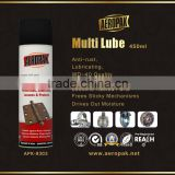 AEROPAK Anti rust lubricant oil spray