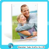 high quality desktop magnetic picture frame couple love photo frame acrylic for gift cheap