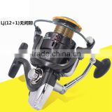 Fresh/ Salt Water Spinning Fishing Reel 12BB + 1 Bearing Balls 1000-7000 Series Boat Rock Fishing Wheel Fly Wheel