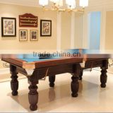 Portable Billiard table, pool table family size high quality billiard table in 7ft,8ft,9ft