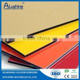 aluminum alloy sheet coated with fluorocarbon resin (PVDF) and polyester resin (PE) roasting painting ACP