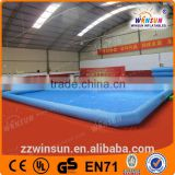 Big 0.9mm PVC pool water waterfall for sale