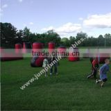 Durable paintball obstacle/Inflatable Laser Bunkers/Outdoor inflated bunkers for paintball/Bunker kits on sale