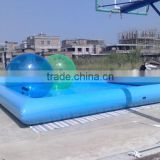PVC water pool with inflatable walking ball/water dancing balloon/inflatable water walker