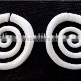 Fake ear spirals piercing free body jewelry sample