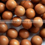 string of sandalwood bead wholesale/8 mm aromatic wood beads/malas