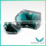 Bulk nanosital rough gemstones fancy color teal green crystals for jewelry making