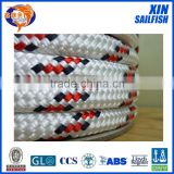 Double-braided polyester boat/ship/yacht sailing ropes XINSAILFISH