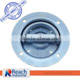 Recessed Swivel Trailer D-Ring Tie Down