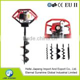 65cc big power earth drill with new handle or new model post hole digger or gasoline planter or ground drill machine
