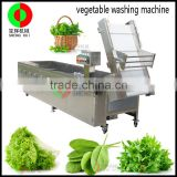 Best popular whole stainless steel bubble vegetable washing machine with ozone system fruit washer automatic vegetable washing