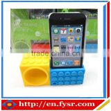 silicone mini speaker silicone cellphone loudspeaker