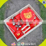 wholesale professional preschool wooden musical instrument toy,wooden percussion set toy for children W07A089