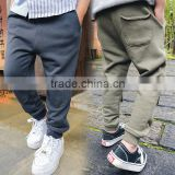 5pcs/lot New Style Baby Boy Pants Cotton Kids Boys Pocket Harem Pants Children's Trousers