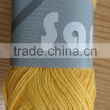Soft cotton/ bamboo yarn hand knitting yarn