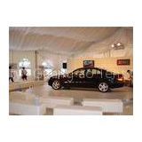 Marquee Outdoor Exhibition Tents For Car Trade Show PVC Cover / Clear Window