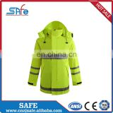 wholesale safety reflective raincoat for rain
