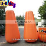 long inflatable water floating buoy