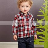T-BSS006 Fashion Boys Beautiful Plain Flannel Cotton Shirts