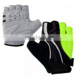 Unique LED Smart Turn Signal Anti-slip Half Finger Cycling Gloves