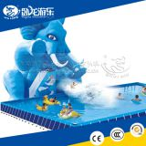 Commercial adult inflatable water slide with pool big water slides for adult with factory price