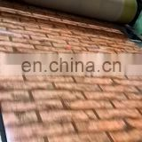 wooden  series  6mm thickness galvanized steel sheet precoated galvanized steel sheet