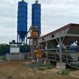 China leading factory construction mining  concrete batching/mixing plant/station in low price for sale