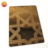 Cold hot rolled 316 201 sus304 decorative finish stainless steel sheet titanium gold hairline