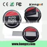 1gb 2gb 4gb super thin round card mini usb flash drive wholesale cheap price with oem logo for promotional gift