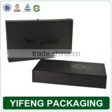 Matte black cardboard gift box, unique cardboard box packaging for sunglass