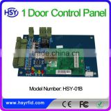HSY-01B 220V power TCP/IP network door access control system rfid control panel manufacturer